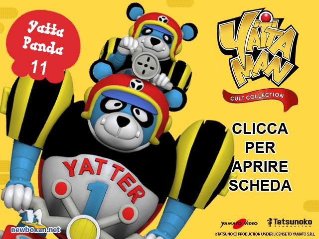 leggi scheda Yatta Panda & baby Panda- Yattaman Cult Collection