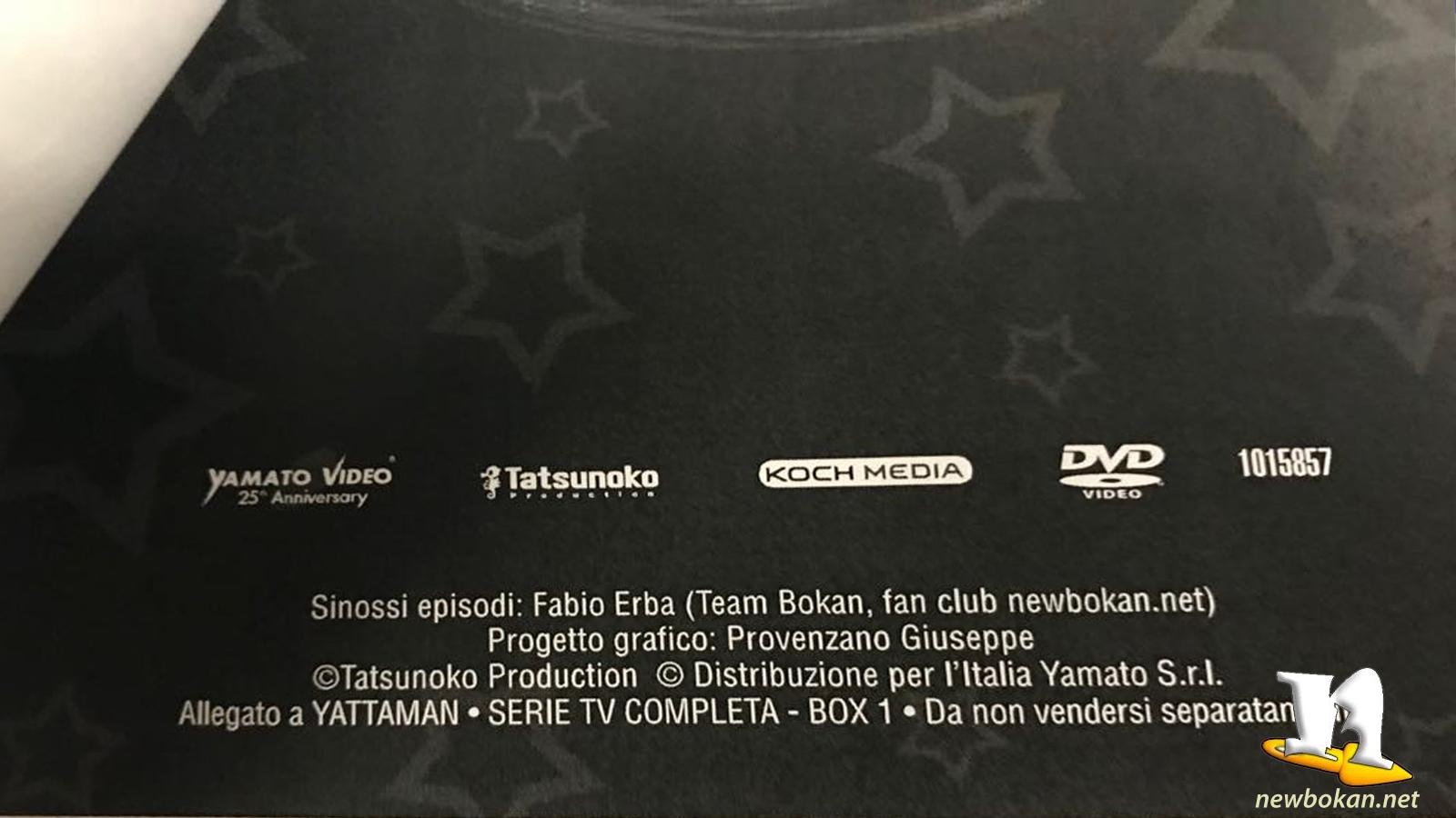 yattaman DVD box1 booklet