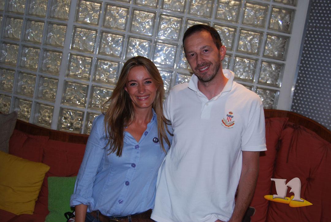 Fabio Erba di newbokan con Debora Magnaghi Miss dronio