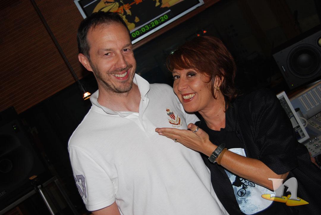 Fabio Erba di newbokan con Monica Pariane di C.A.D.