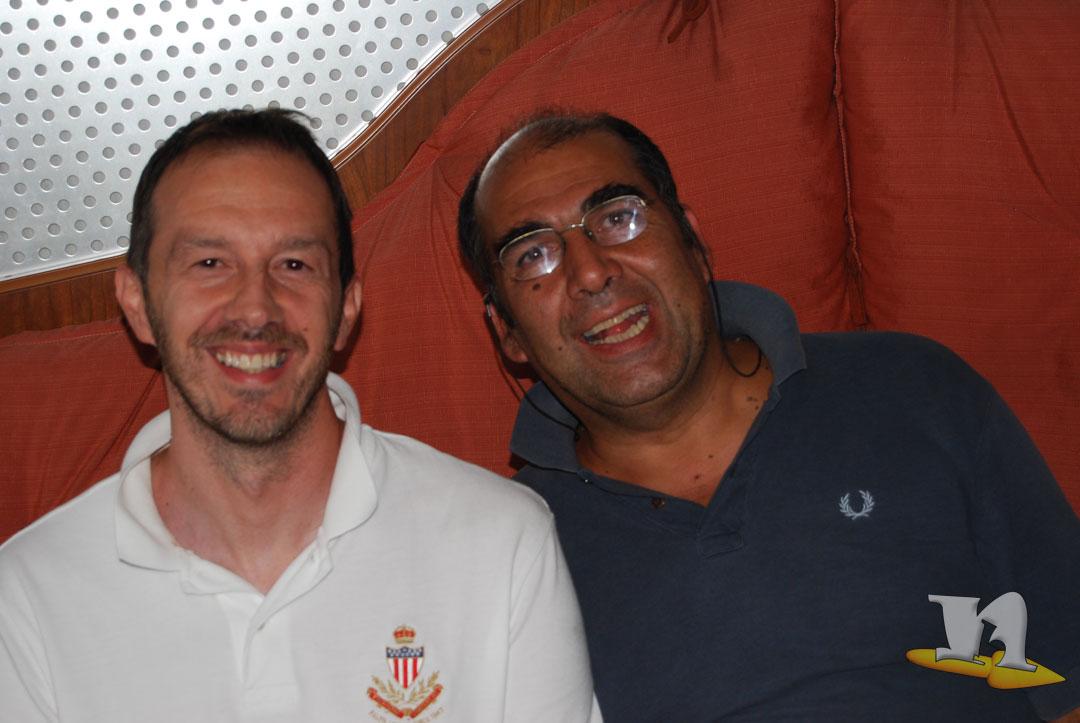 Fabio Erba di newbokan con Pietro Ubaldi Taz Tonzula